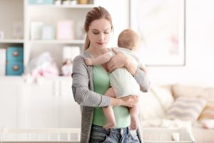 Soigner un baby-blues (la maman allaite)