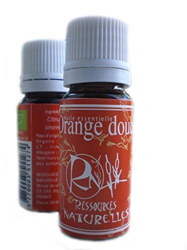 ressources naturelles huile essentielle orange douce bio 10 ml. Black Bedroom Furniture Sets. Home Design Ideas