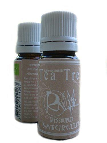 Huiles essentielles Ressources Naturelles - Huile Essentielle Tea Tree Bio 10 Ml de la marque